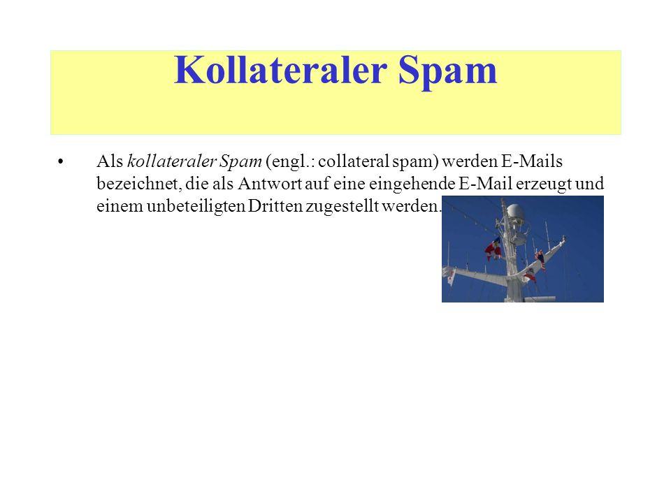"""Unsolicited Commercial E-Mail (UCE) Unsolicited Commercial E-Mail (UCE) [deutsch: """"Unverlangte E- Mail-Werbung ] sind E-Mails mit werbenden Inhalten, die unangefordert an Empfänger (auch einzelne oder wenige) verschickt werden."""
