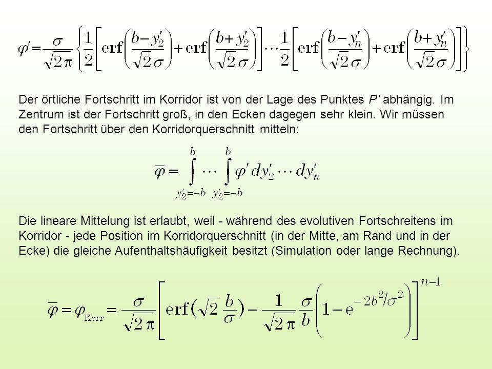 Mit für u >>1 folgt Dies gilt für n >> 1, wie sich später zeigen wird