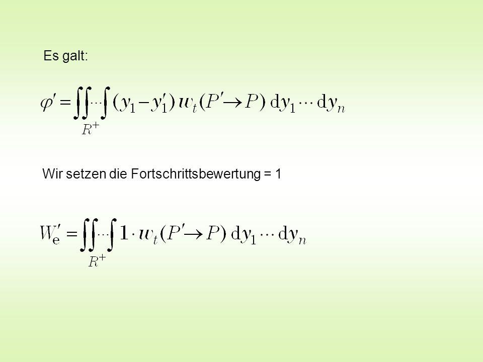 für   / b << 1 opt ( = 1 : 5,4 ) für n >> 1 Lange elementare Zwischenrechnung Bekannter Grenzwert