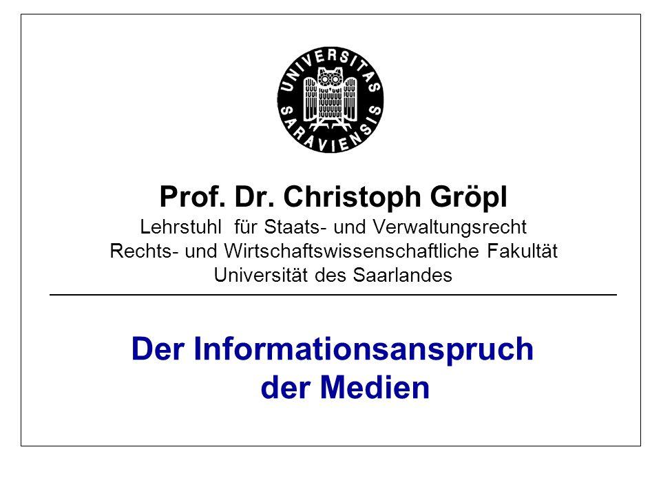 Prof.Dr. Ch. Gröpl · Universität des Saarlandes 2 Hintergrund  Volkssouveränität, Art.
