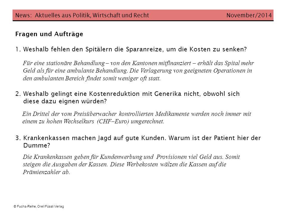 News: Aktuelles aus Politik, Wirtschaft und Recht November/2014 4.