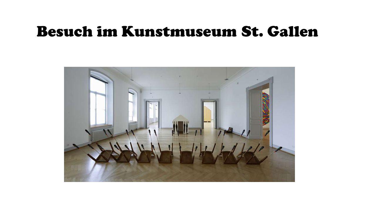 Besuch im Kunstmuseum St. Gallen