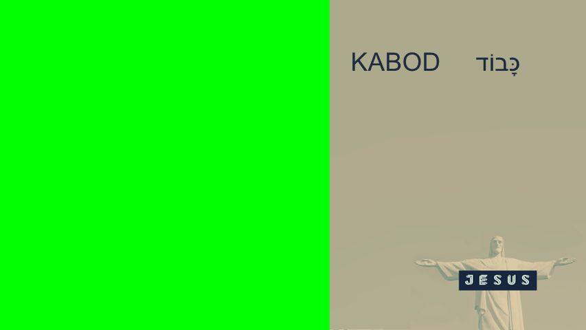 Seiteneinblender KABOD כָּבוֹד