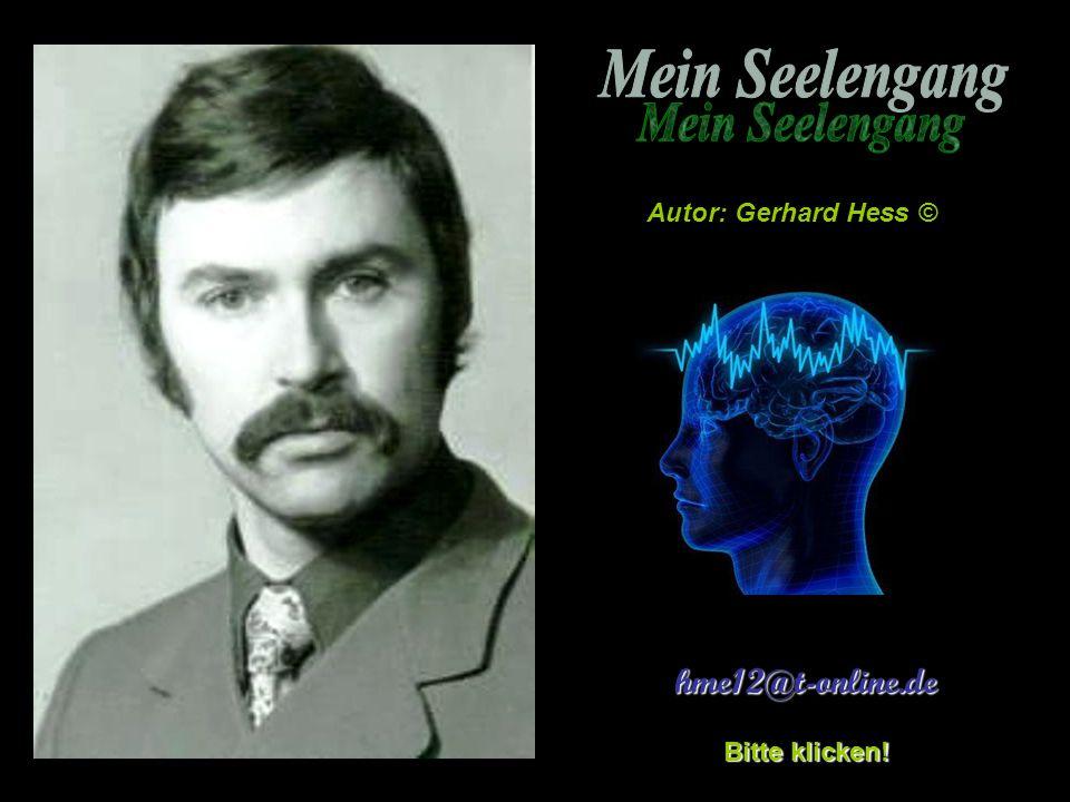 MEIN SEELENGANG © Gerd Hess Durch die Äonen die Seelen geh'n, im ewigen kreisenden Reisen, wer kann erahnen, kann es versteh'n, was wissen die rätigen Weisen .