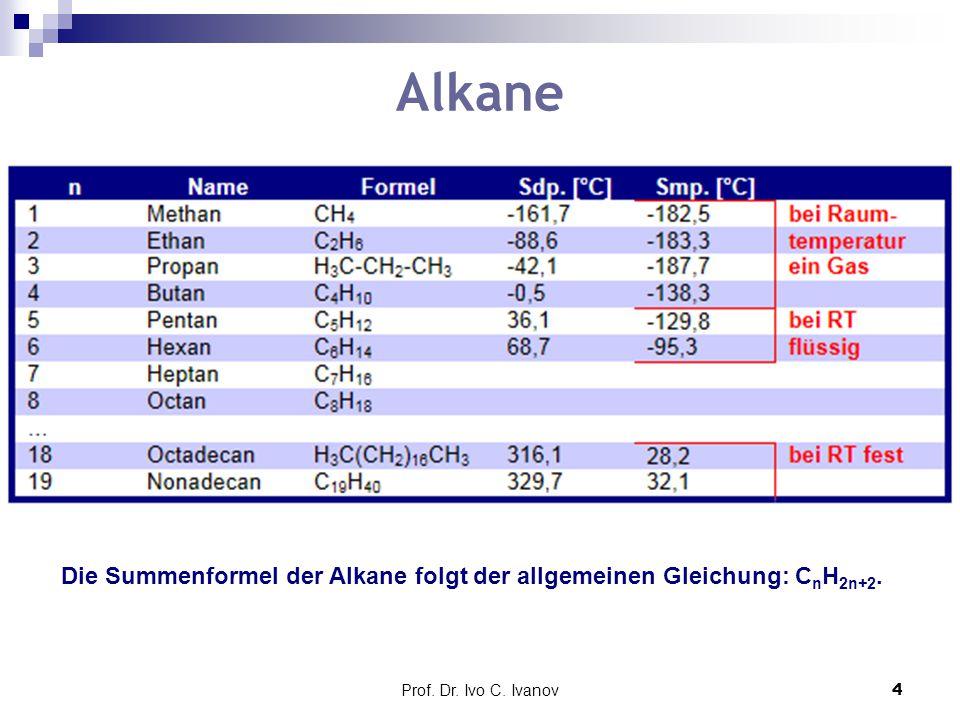 Prof.Dr. Ivo C. Ivanov5 Radikalische Substitution Chlorierung von Methan (eine S R -Reaktion) 1.