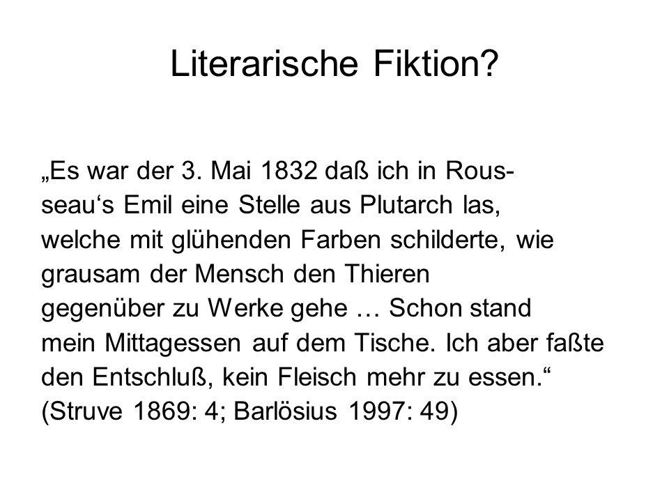 """Literarische Fiktion. """"Es war der 3."""