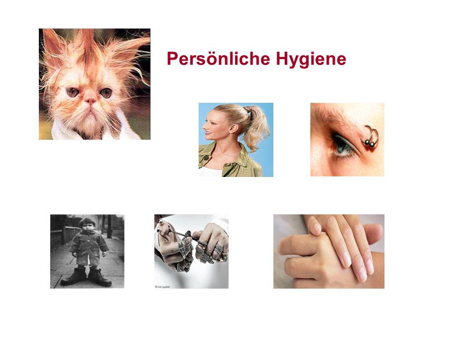 Persönliche Hygiene