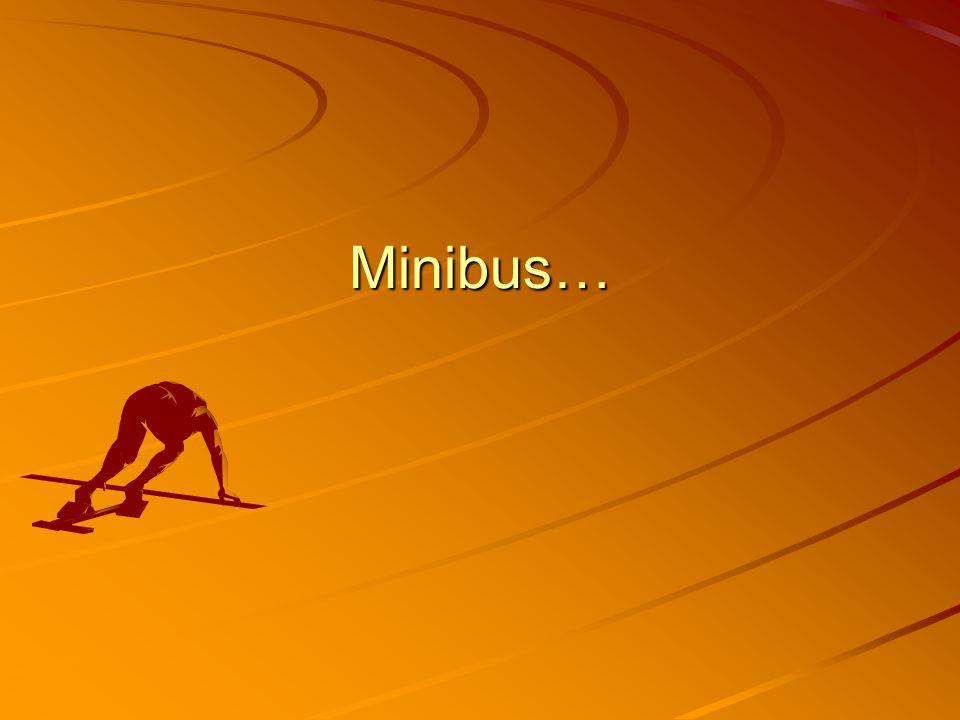 Minibus…