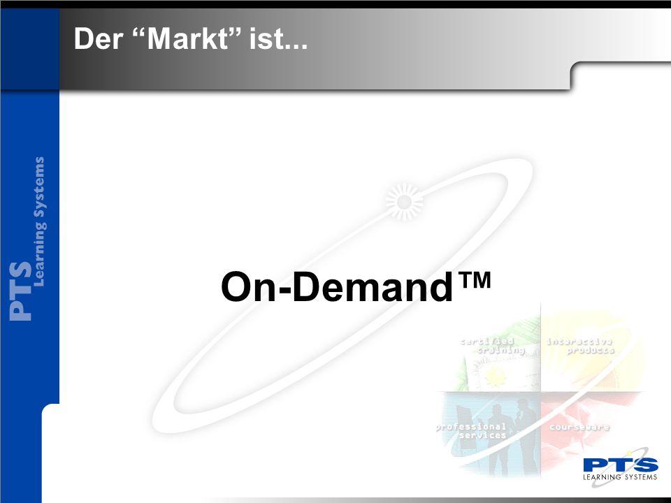 On-Demand™ Der Markt ist...