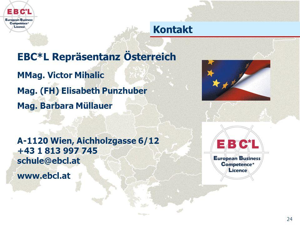 EBC*L Repräsentanz Österreich MMag. Victor Mihalic Mag.