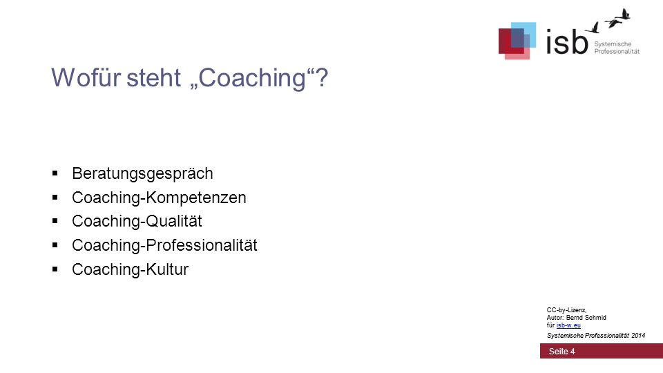 CC-by-Lizenz, Autor: Bernd Schmid für isb-w.euisb-w.eu Systemische Professionalität 2014 Seite 45 Gütekriterien eines Führungssystems  Ein Führungssystem ist so gut, wie es durchgehende Ketten bildet, über die Impulse vom Ausgangspunkt bis zum relevanten Endpunkt laufen.
