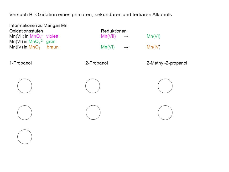 Primary alcohol VII Secondary Alcohols Tertiary Alcohols