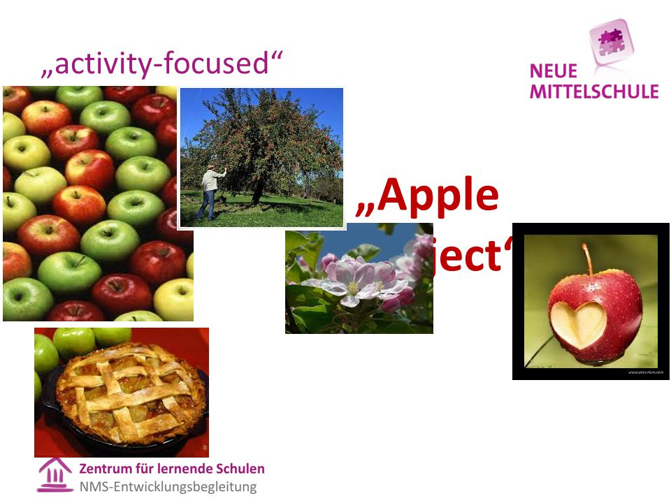 """activity-focused"" ""Apple Project"""
