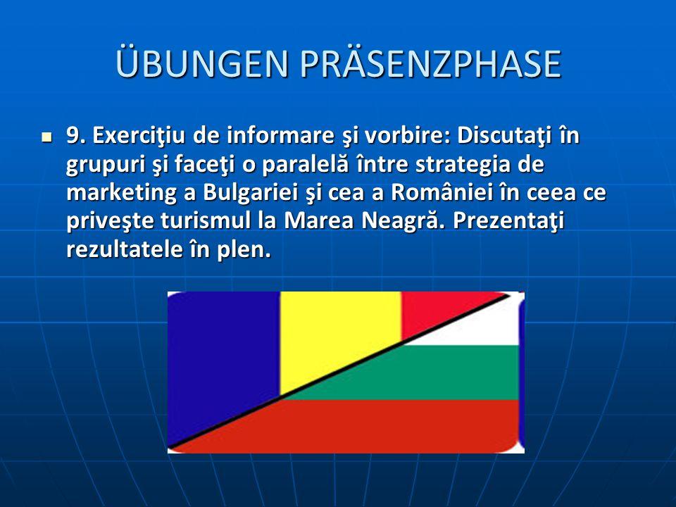 ÜBUNGEN PRÄSENZPHASE 9.