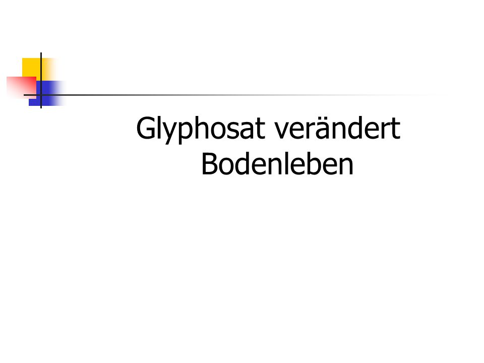 Some Plant Pathogens Increased by Glyphosate Pathogen Pathogen Pathogen Pathogen Increased: Cercospora spp.