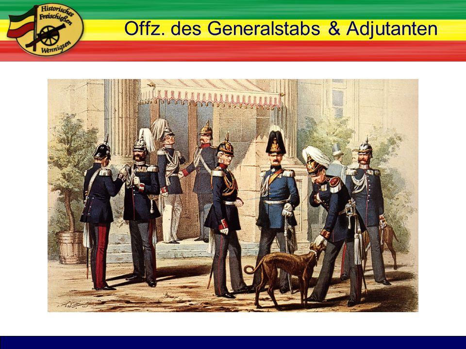 TitelOffz. des Generalstabs & Adjutanten