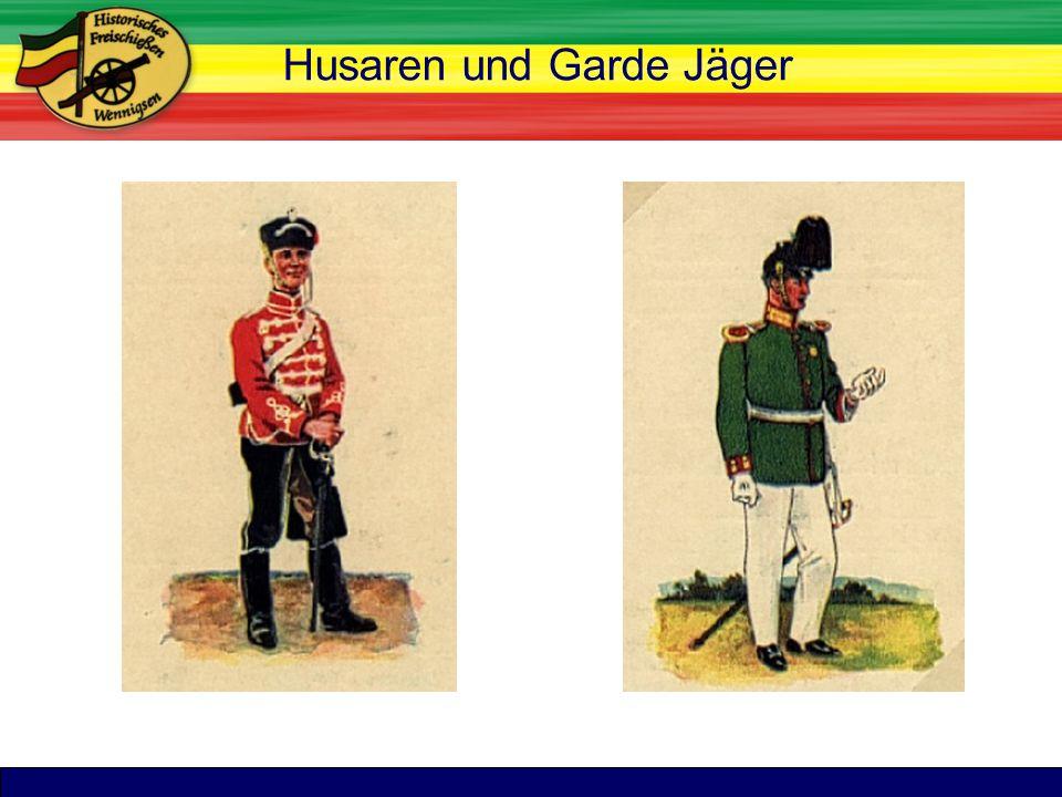 TitelHusaren und Garde Jäger