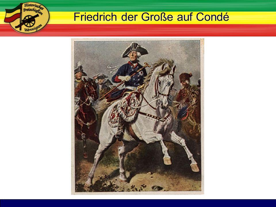 TitelFriedrich der Große auf Condé