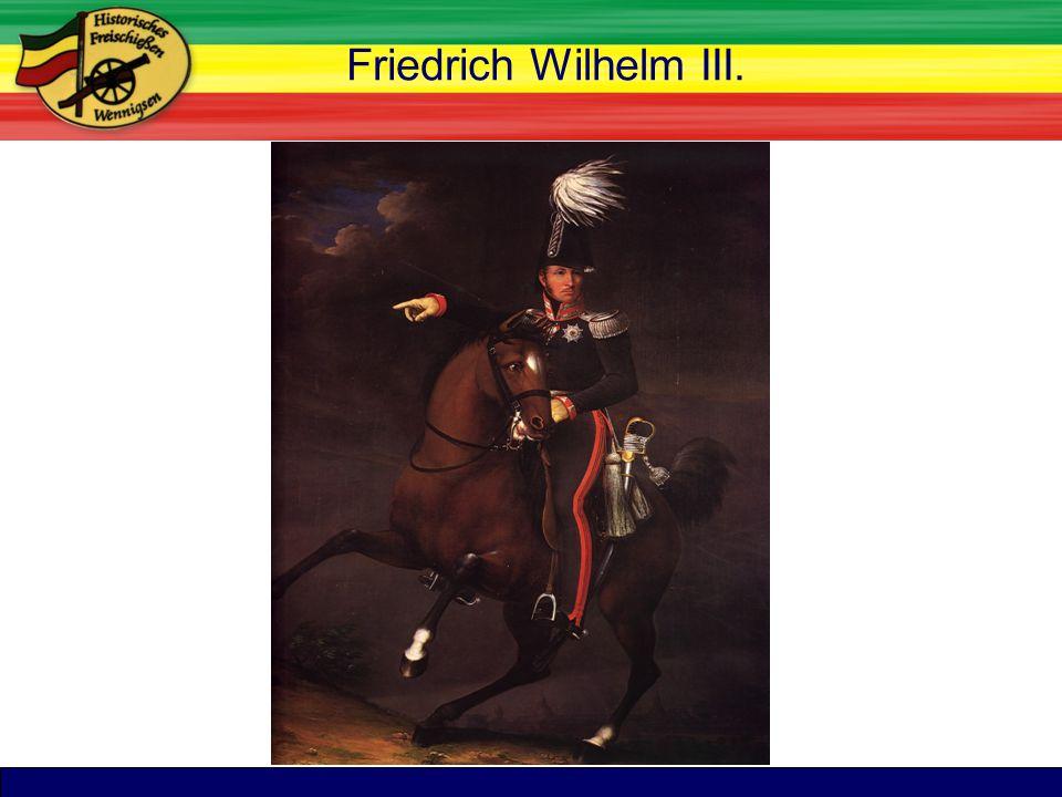TitelFriedrich Wilhelm III.