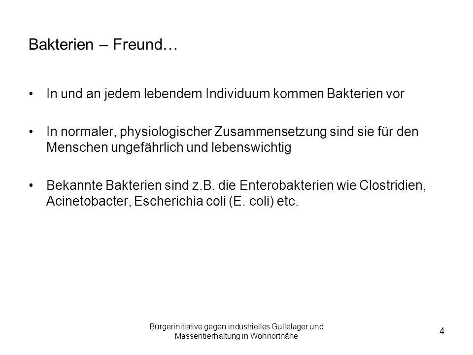 Bürgerinitiative gegen industrielles Güllelager und Massentierhaltung in Wohnortnähe 5 … und Feind.