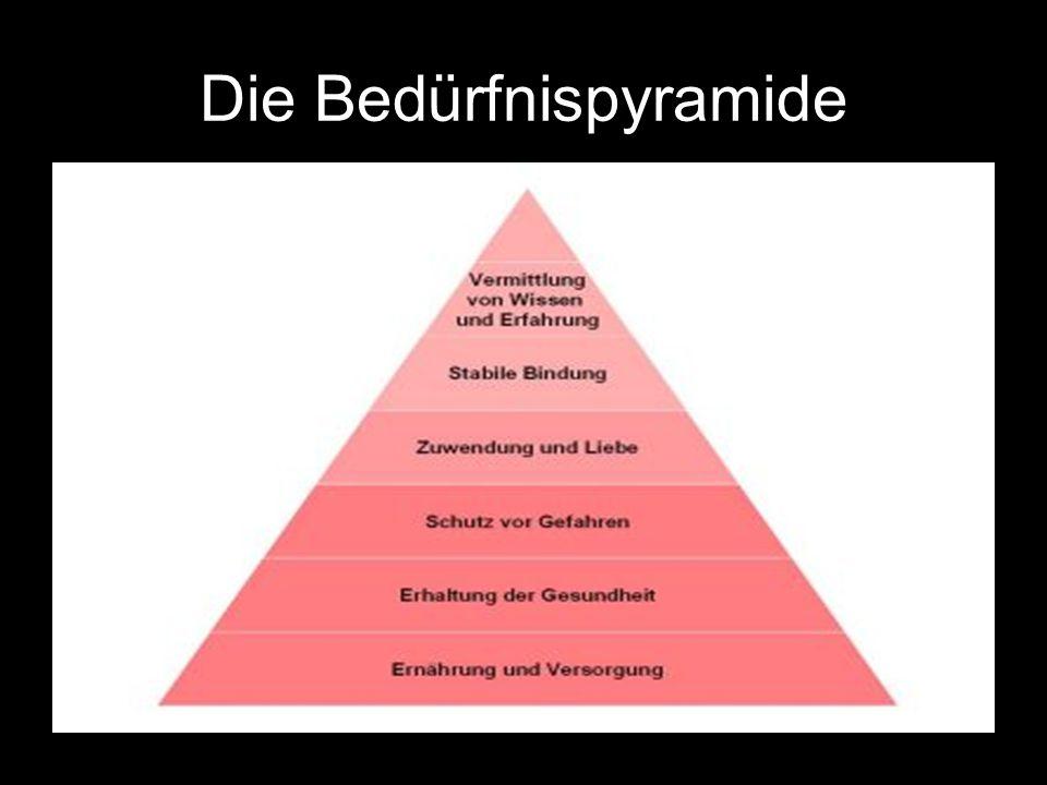 Die Bedürfnispyramide
