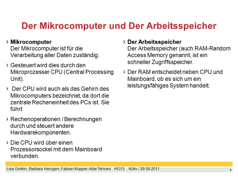 5 Lisa Gorkin, Barbara Herzgen, Fabian Küpper, Ailar Tehrani  HG13  Köln / 29.09.2011