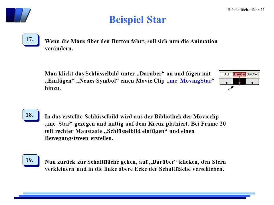 Schaltfläche-Star 11 Beispiel Star 17.