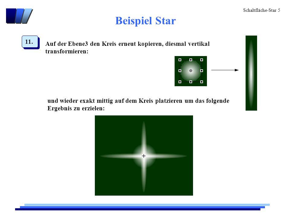 Schaltfläche-Star 5 Beispiel Star 11.