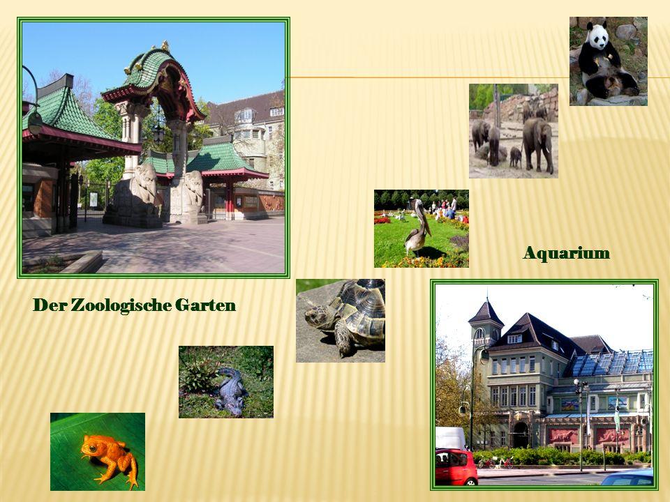 Der Zoologische Garten Aquarium