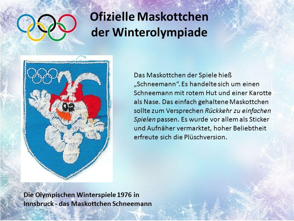 Der Legende nach war dieses Maskottchen der Olympischen Winterspiele im Jahr 1980 ein realer Prototyp – der zahme Waschbär namens Rocky.