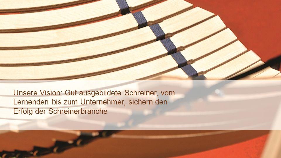 sgv Winterkonferenz 15.01.2015 – DB8 Unsere Vision: Gut ausgebildete Schreiner, vom Lernenden bis zum Unternehmer, sichern den Erfolg der Schreinerbranche
