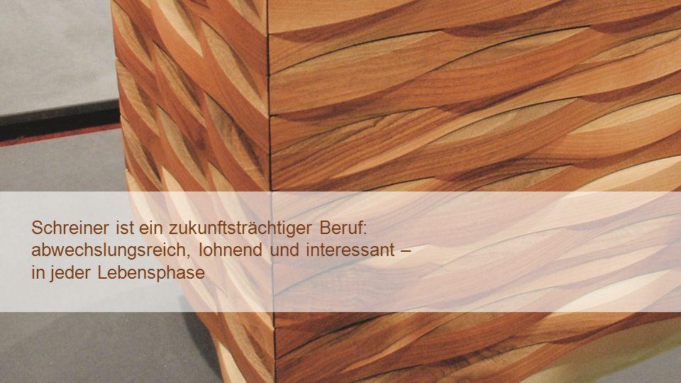 sgv Winterkonferenz 15.01.2015 – DB9 Schreiner ist ein zukunftsträchtiger Beruf: abwechslungsreich, lohnend und interessant – in jeder Lebensphase
