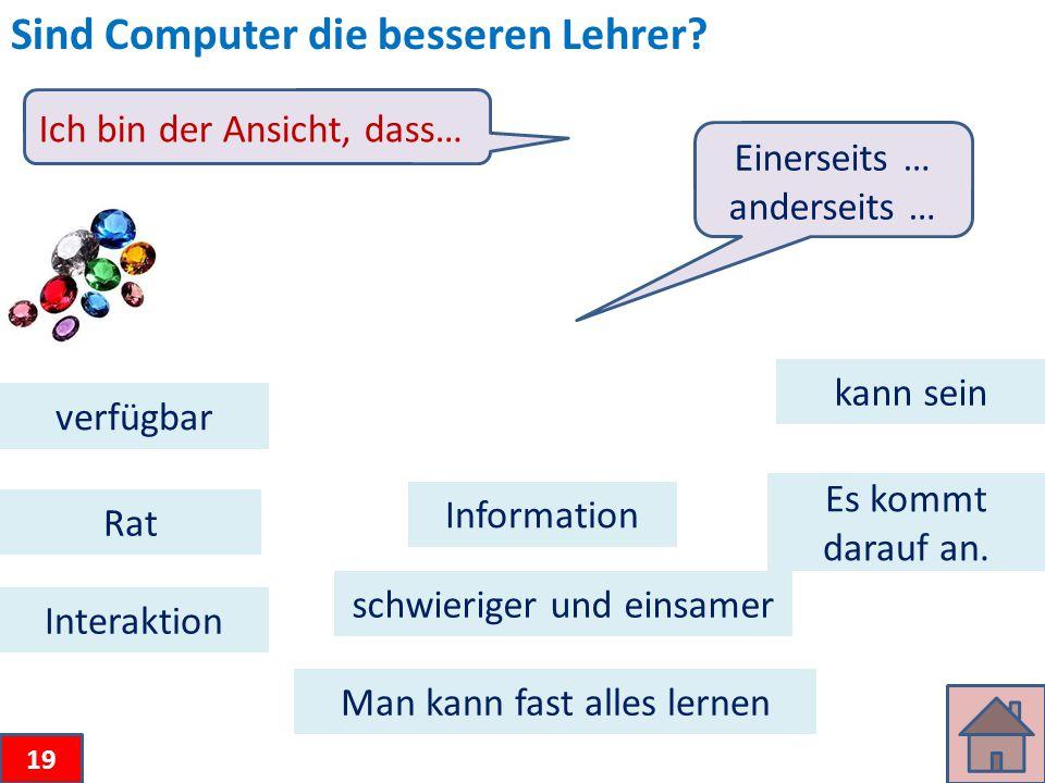 Sind Computer die besseren Lehrer.