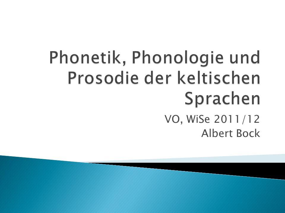 VO, WiSe 2011/12 Albert Bock