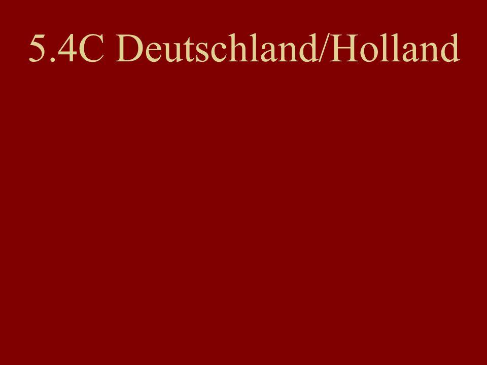 5.4C Deutschland/Holland