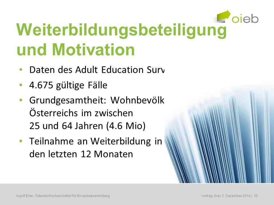 Erwachsenenbildung und Soziale Ungleichheit 5.
