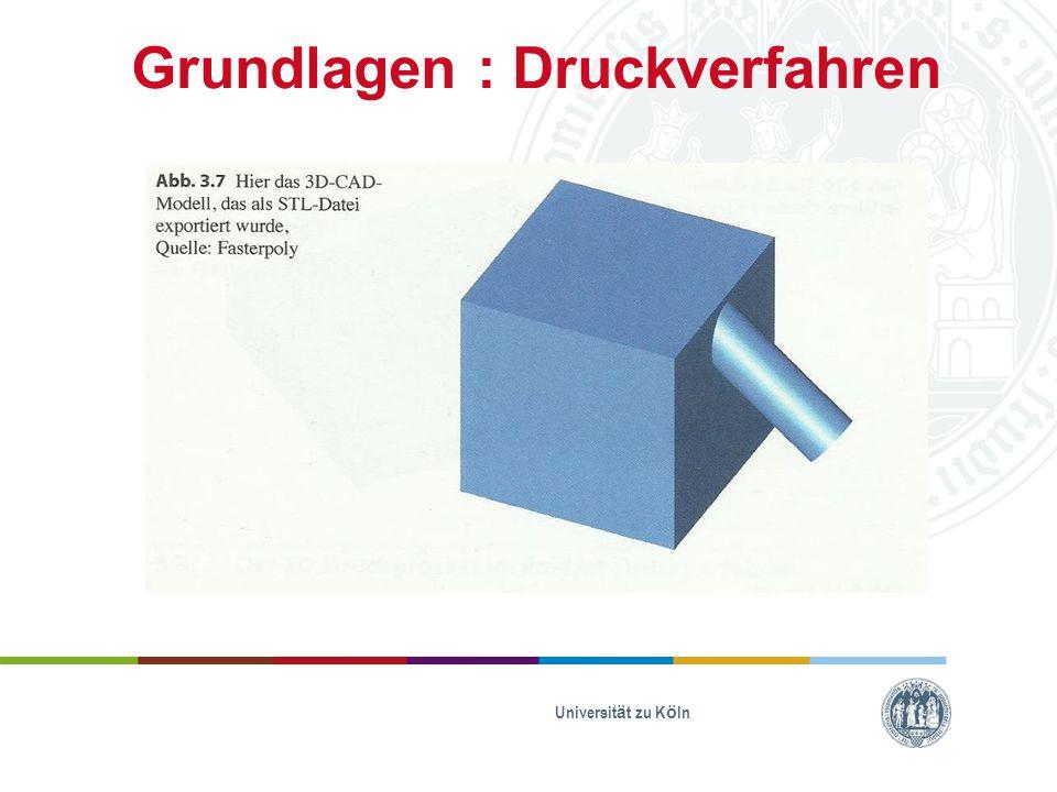 Grundlagen : Druckverfahren Universität zu Köln