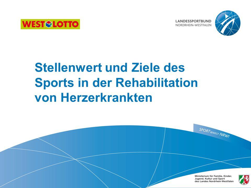 Stellenwert und Ziele des Sports in der Rehabilitation von Herzerkrankten 