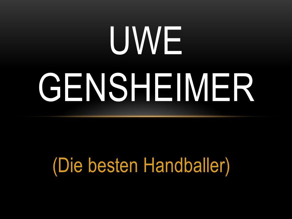 (Die besten Handballer) UWE GENSHEIMER