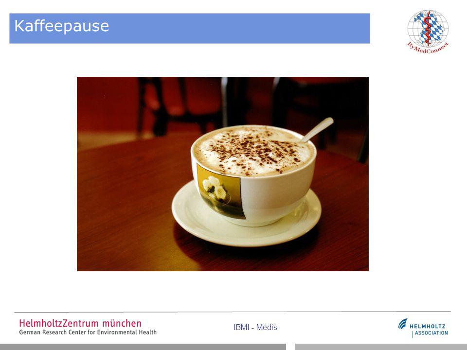 IBMI - Medis Kaffeepause