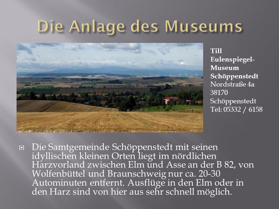  Die Samtgemeinde Schöppenstedt mit seinen idyllischen kleinen Orten liegt im nördlichen Harzvorland zwischen Elm und Asse an der B 82, von Wolfenbüttel und Braunschweig nur ca.
