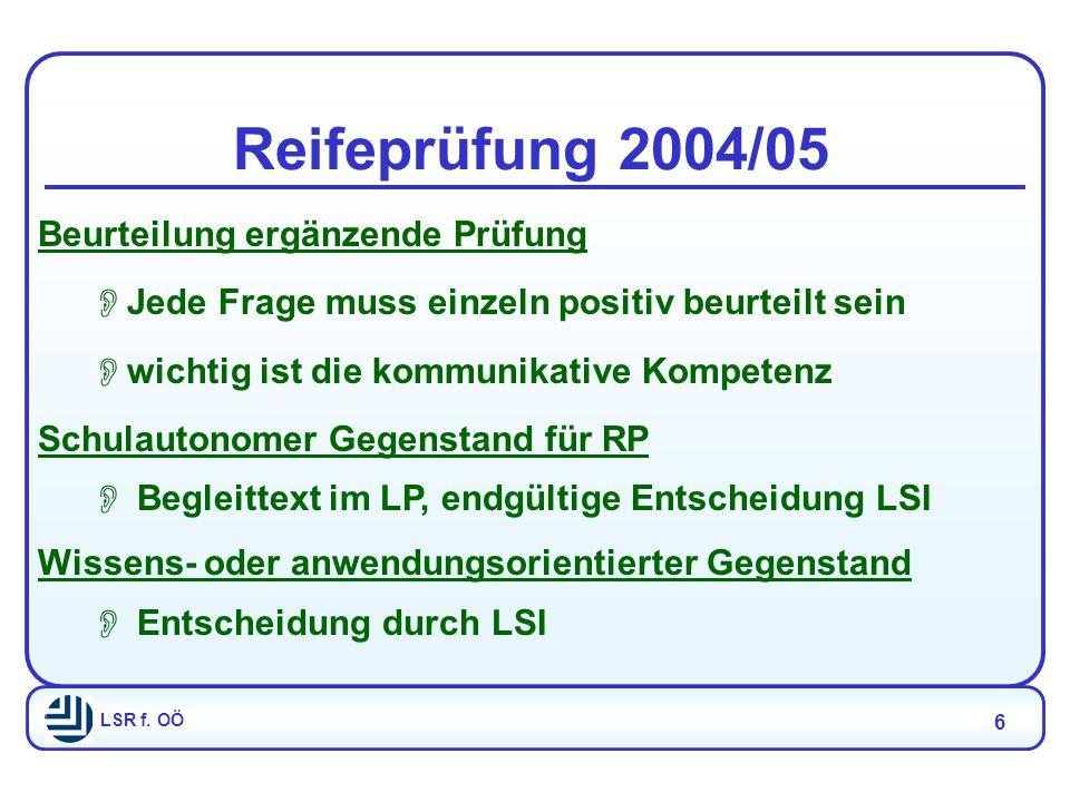 LSR f.