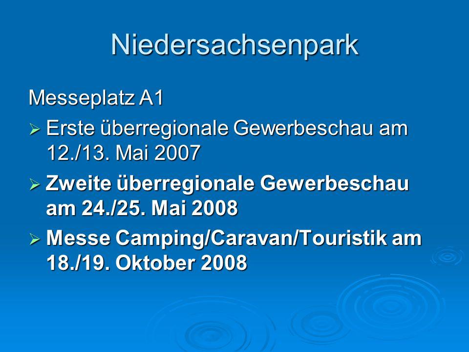 Niedersachsenpark Gewerbeansiedlungen:  Lahrmann Transporte  Spandler  Fedix  Bosch Rexroth