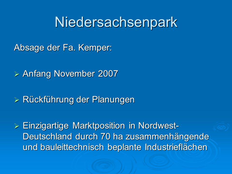 Niedersachsenpark Messeplatz A1  Erste überregionale Gewerbeschau am 12./13. Mai 2007  Zweite überregionale Gewerbeschau am 24./25. Mai 2008  Messe
