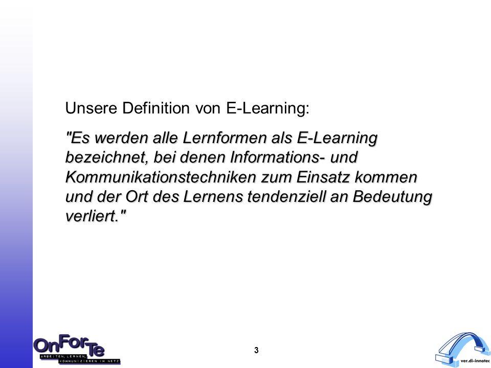 """4 Neue Entwicklungen und Tendenzen in der Arbeitswelt: - Notwendigkeit Lebenslanges Lernens - Wissen/Erlerntes verliert schnell an Aktualität - andere/neue Qualifikationen erforderlich - Vorteile des eL werden erkannt (aber: auch schlechtere Entwicklung als prognostiziert; """"second wave ) - just in Time -Wissen wird gefordert - Flexibilität der Beschäftigten gefordert - … Warum gewinnt eL zunehmend an Bedeutung?"""