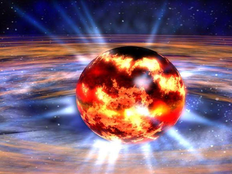 Die Masse eines Stern entscheidet über seinen Tod Hat ein Stern 1,4 bis 3,2 Sonnenmassen, wird er zum Neutronenstern.