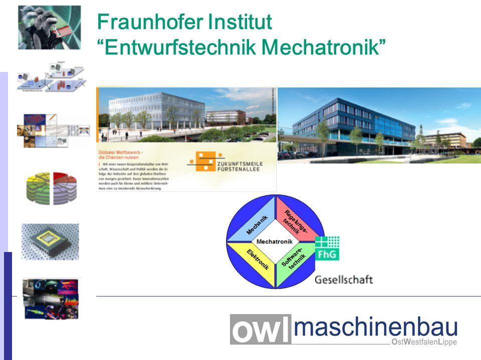 """Fraunhofer Institut """"Entwurfstechnik Mechatronik"""" Hannover"""