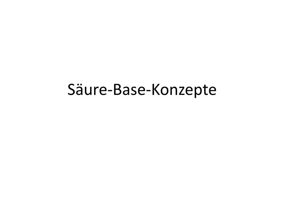 Säure-Base-Konzepte