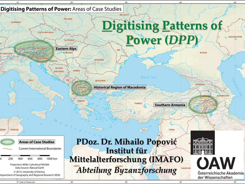 Digitising Patterns of Power (DPP) PDoz.Dr.