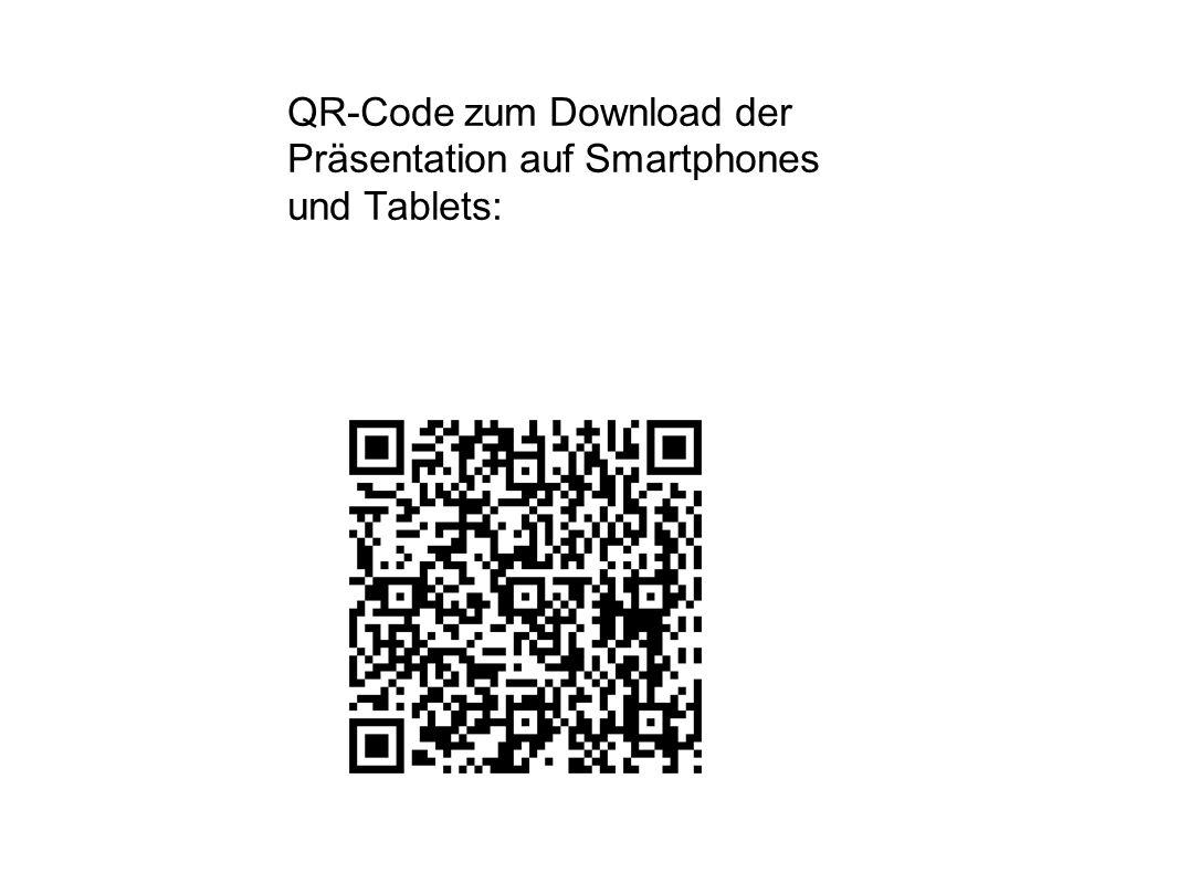QR-Code zum Download der Präsentation auf Smartphones und Tablets: